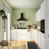 Cucina in kit DELINIA bianco L 615 cm