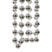 Ghirlanda natalizia grigio / argento