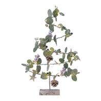 Albero multicolore L 36 H 56 cm