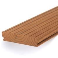 Listone da esterno Thermowood in pino naturale L 210 x H 11.7 cm, Sp 26 mm