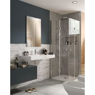 Mobile bagno Element blu navy L 80 cm