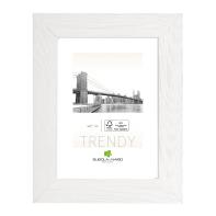 Cornice Varenna bianco per foto da 50x70 cm