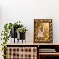 Cornice Clio oro per foto da 24x30 cm