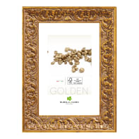 Cornice Amber oro per foto da 21x29.7 (A4) cm