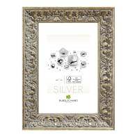 Cornice Amber argento per foto da 24x30 cm