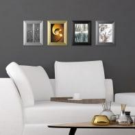 Cornice Alu-Design nero per foto da 50x70 cm