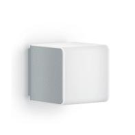 Applique L 840 LED integrato con sensore di movimento, in plastica, argento, 9.5W 305LM IP44 STEINEL