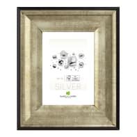 Cornice Joss argento<multisep/>nero per foto da 30x40 cm