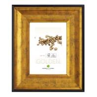 Cornice Joss oro<multisep/>nero per foto da 50x70 cm