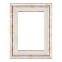 Cornice Tamara argento per foto da 30x40 cm