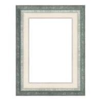 Cornice Tamara verde per foto da 50x70 cm