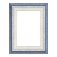 Cornice Tamara azzurro per foto da 50x70 cm