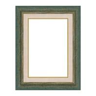 Cornice Mark verde per foto da 35x50 cm
