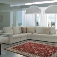 Tappeto persiano Carrera , rosso, 133x190 cm