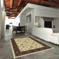 Tappeto persiano Carrera , beige, 133x190 cm