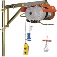 Paranco elettrico Assi Paralleli portata max 200 kg cavo da 60 m