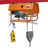 Paranco elettrico Monotiro portata max 300 kg cavo da 25 m