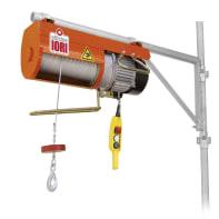 Paranco elettrico Monopulsante portata max 150 kg cavo da 100 m