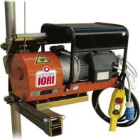 Paranco elettrico Monotiro portata max 100 kg cavo da 80 m