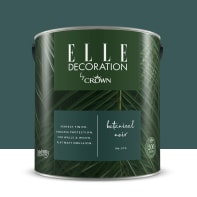 Pittura murale ELLE DECORATION 2.5 L botanical noir no.374