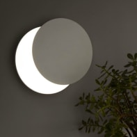 Applique design Eclipse LED integrato , in metallo,  D. 30 cm 30 cm, INSPIRE