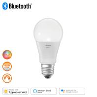 Lampadina smart lighting LED, E27, Goccia, Opaco, Luce CCT e RGB, 60W=810LM (equiv 60 W), 240° , LEDVANCE