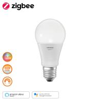Lampadina smart lighting LED, E27, Goccia, Opaco, Luce CCT e RGB, 60W=800LM (equiv 60 W), 240° , LEDVANCE