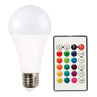 Lampadina smart lighting LED, E27, Goccia, Opaco, Luce CCT e RGB, 11W=1050LM (equiv 11 W), 200°
