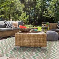 Tappeto per esterno Outdoor , verde, 50x115