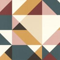 Carta da parati Geometria multicolore