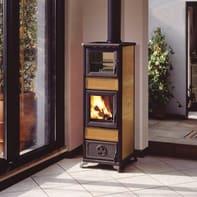 Stufa a legna con forno INNOFIRE Gloria 7.2 kW biscotto