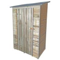 Casetta da giardino in legno Simo,  superficie interna 0.82 m² e spessore parete 14 mm