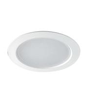 Faretto fisso da incasso quadrato Fisso in alluminio, bianco, LED integrato 20W 1800LM IP20