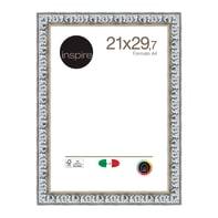 Cornice INSPIRE Baroque argento per foto da 21x29.7(A4) cm