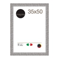 Cornice INSPIRE Iride argento per foto da 35x50 cm