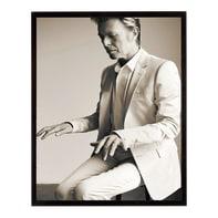 Stampa incorniciata David Bowie 40.7x50.7 cm