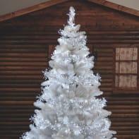 Catena luminosa 1104 lampadine bianco Festone Cluster Miniled 1650 cm