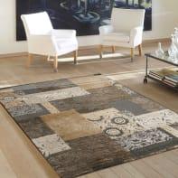 Tappeto Farashe patch , marrone, 160x230 cm