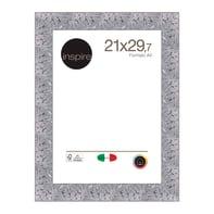 Cornice INSPIRE Mosaico argento per foto da 21x29.7 (A4) cm