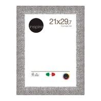 Cornice INSPIRE Iride argento per foto da 21x29.7 (A4) cm