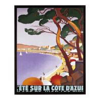 Stampa incorniciata Ete Sur La Cote D'Azur  40.7x50.7 cm