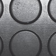Pavimento pvc in rotolo Gomma Bollo , Sp 3 mm antracite