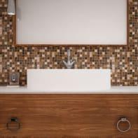 Mosaico Campione Dark Brown Chiffon H 0.4 x L 9 cm