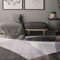 Tappeto Soave Soft Slice , grigio, 120x170 cm