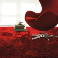 Tappeto Shaggy coccole , rosso, 120x170
