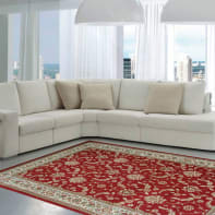 Tappeto persiano Carrera , rosso, 200x290