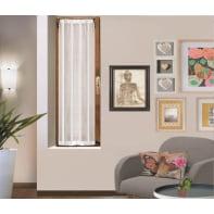 Tendina vetro Picasso bianco tunnel 43 x 170 cm