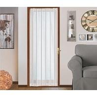 Tendina vetro Picasso bianco tunnel 58 x 240 cm