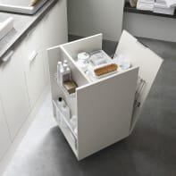 Mobile lavanderia bianco L 50 x P 50 x H 87 cm