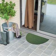 Zerbino Turf in polietilene verde 40x70 cm